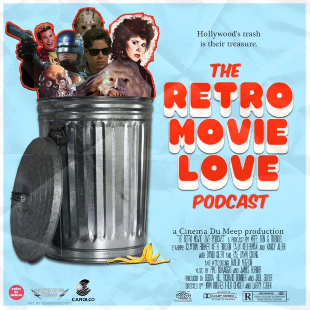 Retro Movie Love Podcast new logo