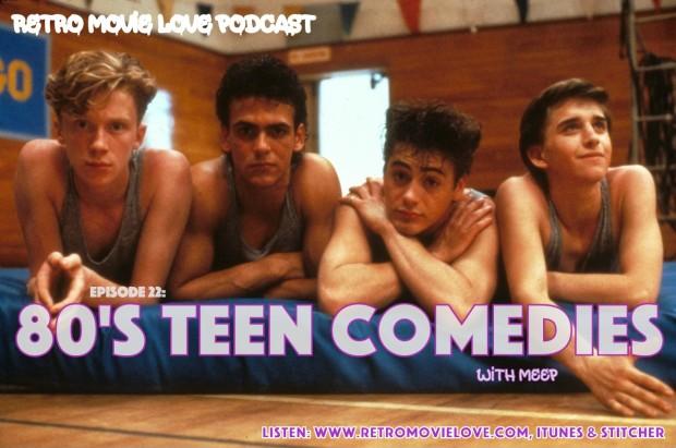 RML 80's teen comedies logo
